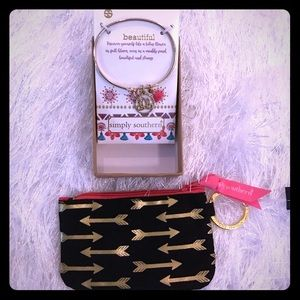 New Simply Southern bracelet & change purse